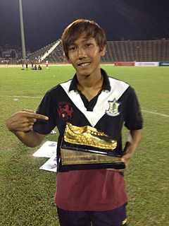 Chan Vathanaka Cambodian footballer