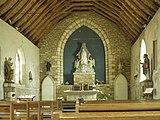 Chapelle de l'abbaye Saint-Mathieu - Intérieur (Plougonvelin).jpg