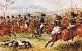 Charge du 20e dragons légers britannique à la bataille de Vimeiro.jpg