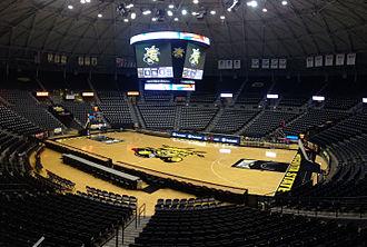 Charles Koch Arena - Interior of Charles Koch Arena