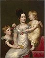 Charles Bird King - Sarah Weston Seaton with her Children Augustine and Julia - S-NPG.2011.147 - National Portrait Gallery.jpg