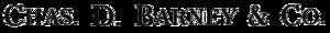 Charles D. Barney - Image: Charles D Barney logo
