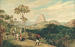 Charles Landseer: View of Sugarloaf Mountain from the Silvestre Road