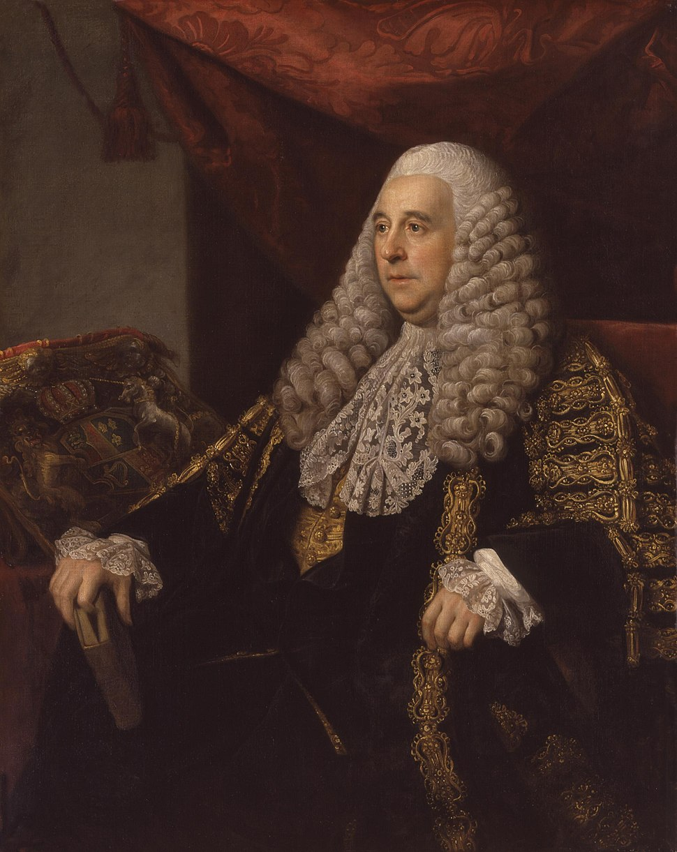Charles Pratt, 1st Earl Camden by Nathaniel Dance, (later Sir Nathaniel Dance-Holland, Bt)