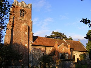 Charsfield - Image: Charsfield Church of St Peter
