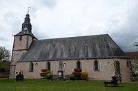 Chassant église Saint-Lubin monument aux morts Charpentier Eure-et-Loir (France).JPG