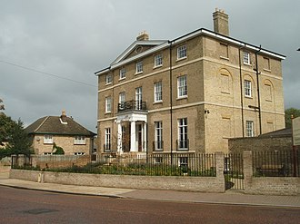 Civil parishes in Cambridgeshire - Image: Chatteris House geograph.org.uk 954438