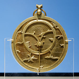 A Treatise on the Astrolabe - So-called Chaucer Astrolabe dated 1326, similar to the one Chaucer describes, British Museum