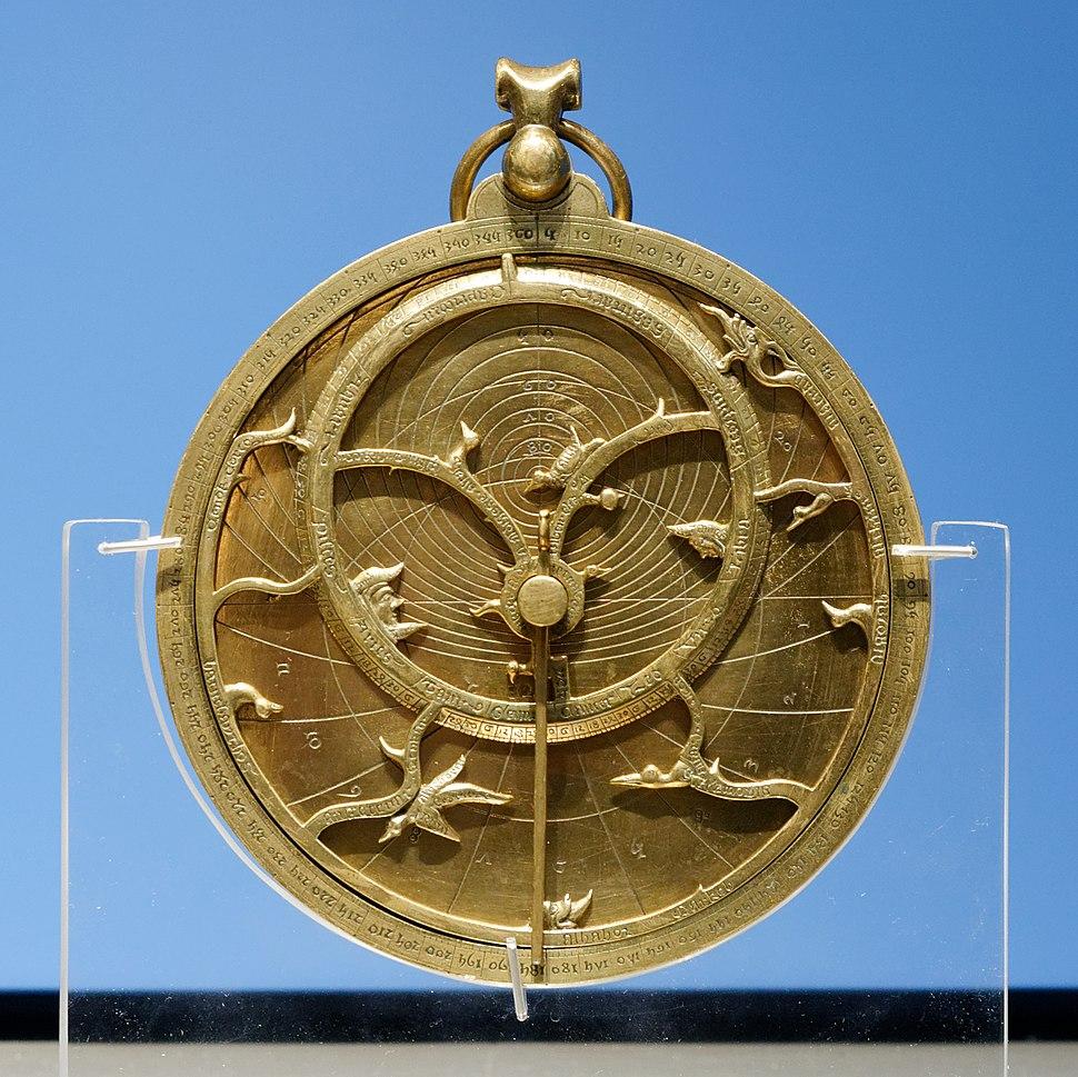 Chaucer Astrolabe BM 1909.6-17.1