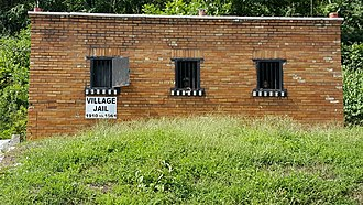 Chesapeake, Ohio - The Chesapeake Village jail, which was in use from 1910 until 1961.