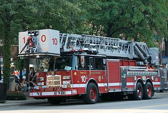 Organization of the Chicago Fire Department - CFD Tower Ladder Co. 10