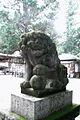 Chichibu,Nagatoro,Saitama - hodo-san shrine 宝登山神社の狛犬 (1804298507).jpg