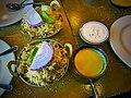 Chicken and lamb biryani (29195126944).jpg