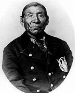 Paiute - Chief Winnemucca, Chief of the Paiutes. He was also named Poito.