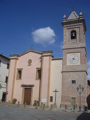 Montaione - Church of San Regolo.