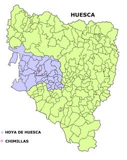 Chimillas municipality of Spain