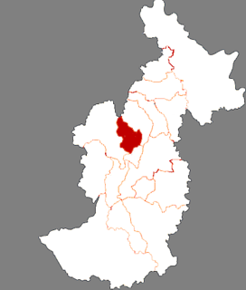 Shangganling District District in Heilongjiang, Peoples Republic of China