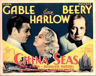China Seas (film) - Lobby card