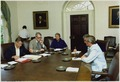 China briefing with Zbigniew Brzezinski, Cyrus Vance, Jimmy Carter, Harold Brown, and Walter Mondale. - NARA - 176001.tif