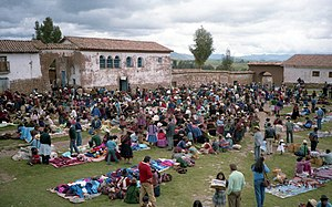 Chinchero District - Market in Chinchero