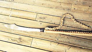 <i>Podao</i> Type of pole weapon
