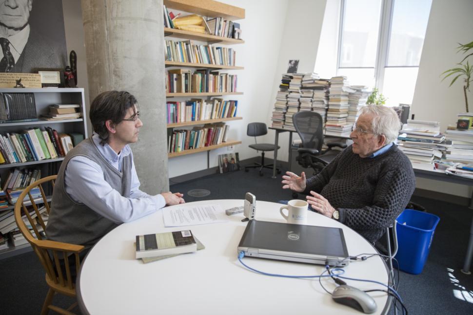 Chomsky Majfud April 2016
