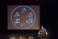 Chris McMahon and Finding and fixing software bugs for Wikipedia session at Wikimania 2014 (2).jpg