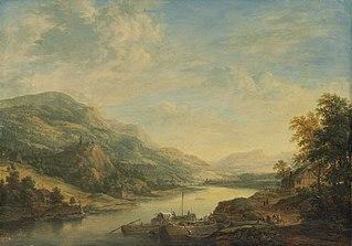 River Landscape along the Main