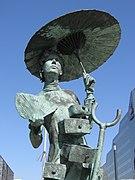 Christian Jankowski, Living Sculptures, Dali vrouw - Croeselaan, Utrecht, 2020 - 2.JPG