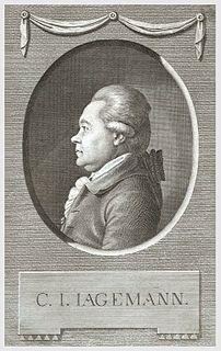 Christian Joseph Jagemann German scholar