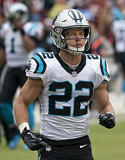 Christian McCaffrey American football running back and return specialist