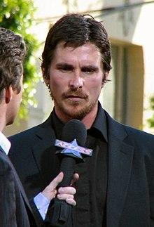 Christian Bale alla prima di Batman Begins (2005)