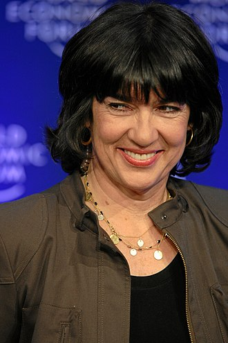 Christiane Amanpour - Amanpour at the 2009 World Economic Forum in Davos