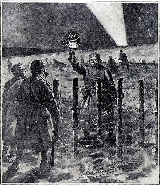 Archivo: Tregua de Navidad por Frederic Villiers.jpg
