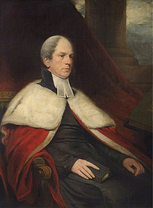 Christopher Wordsworth (Trinity) - Image: Christopher Wordsworth by GF Robson