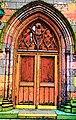 Church door Trinity Church Lower Manhattan NYC.jpg