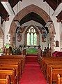 Church of St.Peter and St. Illtyd, Llanhamlach - interior - geograph.org.uk - 1384232.jpg