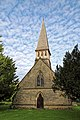 Church of St Andrew, Nuthurst, West Sussex - bell turret and nave from west.jpg