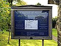 Church of St Andrew, Nuthurst, West Sussex - churchyard notice board.jpg