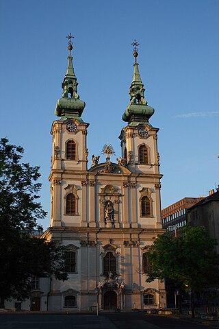 Eglise Szent Anna, Budapest