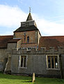 Church of St Nicholas, Fyfield, Essex, England - central tower from north.jpg