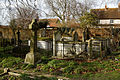 Church of the Holy Cross Felsted Essex England - churchyard tomb enclosure at north.jpg