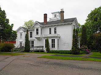 Ezra Churchill - Churchill House, Hantsport