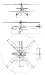 Cierva C.17 3-View L'Air June 1,1929.png