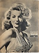 Cindy Garner pin-up from Yank, The Army Weekly, April 1945.jpg