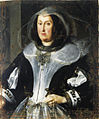 Circle of Justus Sustermans (Flemish, 1597-1681) Portrait of a lady in mourning, traditionally identified as Maria Maddalena of Austria.jpg