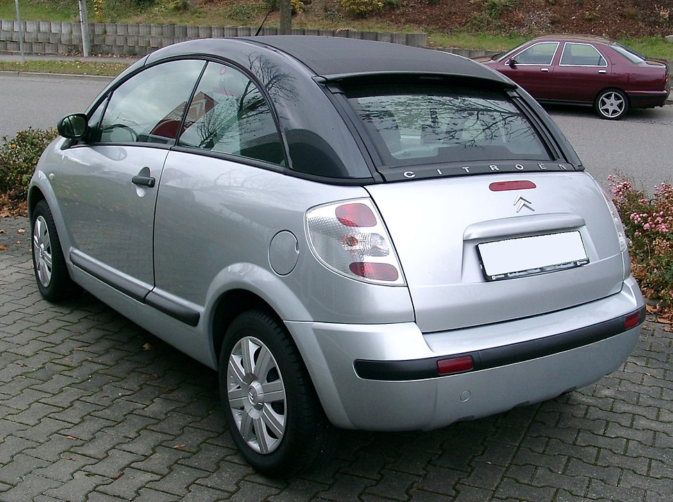 Citroen C3 Pluriel rear 20071104