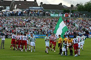 Cork City F.C. - UEFA Champions League qualifier- Cork City v Crvena Zvezda
