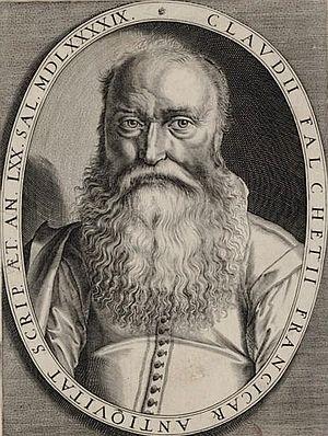 Claude Fauchet (historian) - Claude Fauchet, engraving by Thomas de Leu.