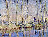 Claude Monet - Jean-Pierre Hoschedé and Michel Monet on the Bank of the Epte.jpg